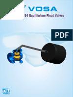 Vosa Equilibrium Float Valve