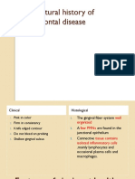 1 - Natural History of Periodontal Disease
