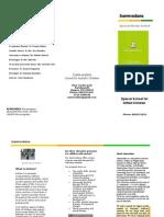 Sanmvedana Brochure