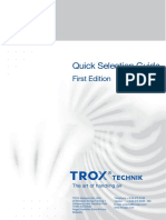 Trox - Quick Selection Guide 1st Ed