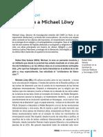 Entrevista a Löwy