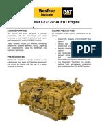 c27 c32 Acert Engine