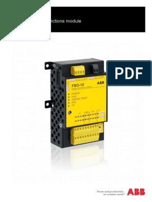 FSO-12 Safety UM RevB | Power Inverter | Electronics