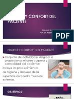 Higiene y Confort Del Paciente