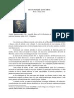 Reseña Boletín 7. Rocío Colman Serra