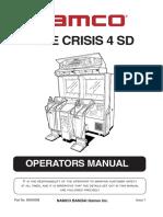 Time Crisis 4 SD Manual