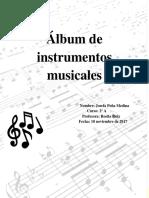Álbum de Instrumentos Musicales