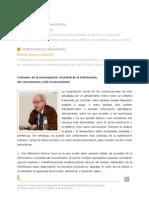 Garcia canclini. Contextos de la investigación