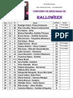 RESULTADOS Conc. Máscaras Halloween 2107
