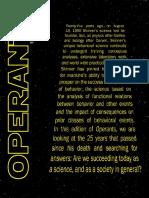 Operants Magazine