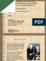 Coaxial y Linea Cuadratica