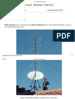 Helical Antenna (Helix Antenna)