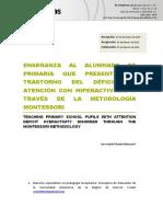 Tdah & Metodología Montessori