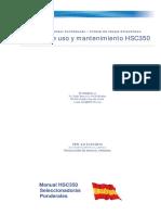 Manual de Mantenimiento HSC350
