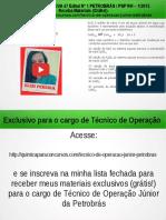 Técnico de Operação Júnior PETROBRAS Questão 22 Resolvida da Prova 47 Edital No 1 PETROBRÁS / PSP RH – 1/2012</div></div><div class=