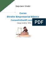 Sp Curso Direito Empresarial b Sico 57854
