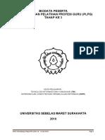 Biodata Peserta Plpg Tahap 3 Tahun 2010 Bidang Study Tik