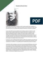 Biografías de Escritores Peruanos