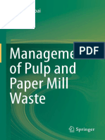 Management of Pulp and Paper Mill Waste Pratima Bajpai Springer 2015