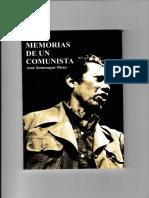 Memorias de Un Comunista_josé Sotomayor Pérez