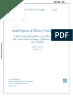 Andersen Verner 2010 Climate Change Chile