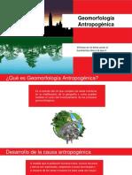 Geomorfología Antropogénica