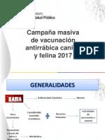 Presentación Campaña Rabia 2017 Capacitacion