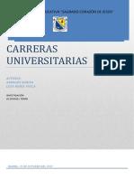 Carreras Universitarias Informe