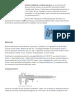 Calibre (Instrumento) - Wikipedia, La Enciclopedia Libre