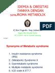 Sindroma Metabolik Dislipidemia Dan Obesitas