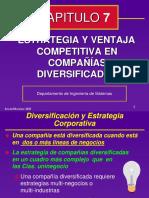 Diversificacion y Estrategia