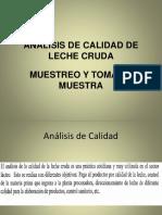 Analisis de La Leche Cruda