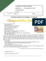 Teste de Português 5º Ano 2016