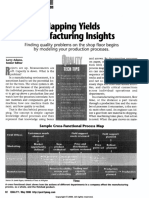 Mapping Yields Manufacturing Insights