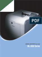 Service Manual Ml-3050series English