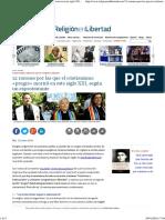 12 Razones Por Las Que El Cristianismo «Progre» Morirá en Este Siglo XXI, Según Un Exprotestante - ReL