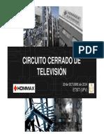 Apuntes ETSIT-UPV - Introduccion Al CCTV - Octubre 2014