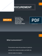 Final Procurement