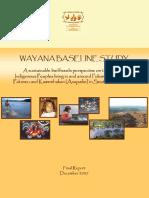 Wayana Baseline Study 2007
