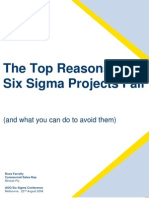 Top Reasons SS Project Fail