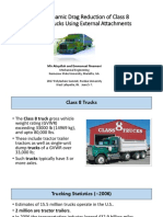 Aerodynamic Drag Reduction of Class 8 Tractor-Trailers Using Exte