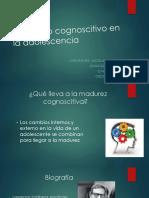 Desarrollo Cognoscitivo en La Adolescencia - IIIC