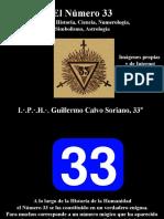 El Número 33 - Imágenes. Religión, Historia, Ciencia, Numerología, Simbolismo, Astrología.
