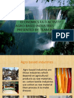 Agro Based Industries PROJECT