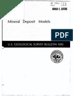 Mineral Deposit Models