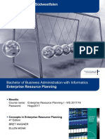 ERP Business Functions Processes