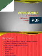 6.1-Dismenorrea-Dr.Miranda 20-03-13
