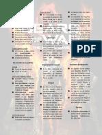 Gears of War - Spanish Rules Summary
