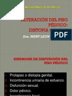 Distopia Ginecologica Dra.leon