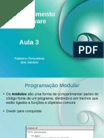 Desenvolvimento de Software Aula 03